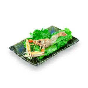 Sashimi solo Scampo scelta al pezzo
