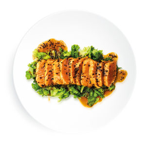 Filetto di Salmone Scottato