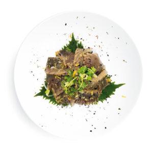 Tonnetto Tataki agli agrumi